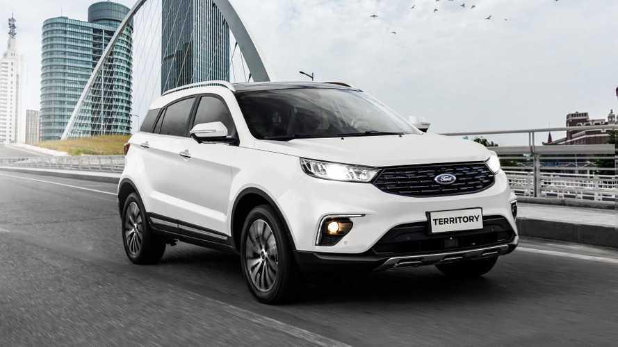 Ford Territory esgota lote da pré-venda (250 unidades) em duas semanas