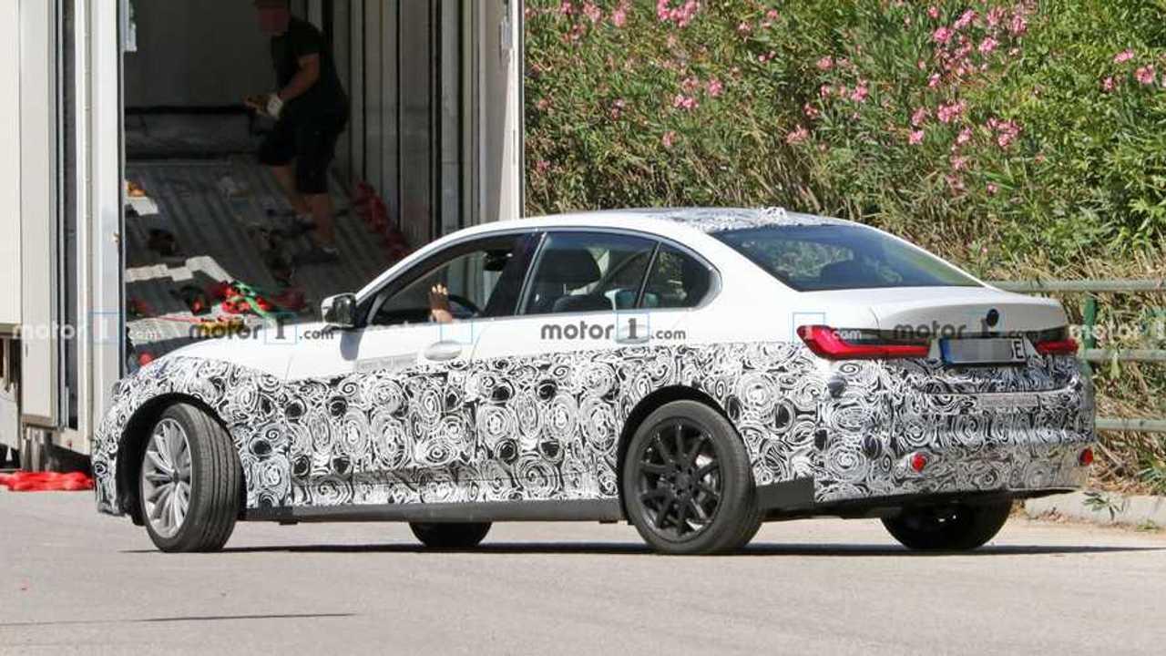 Elektrikli BMW 3 Serisi Casus Fotoğrafları