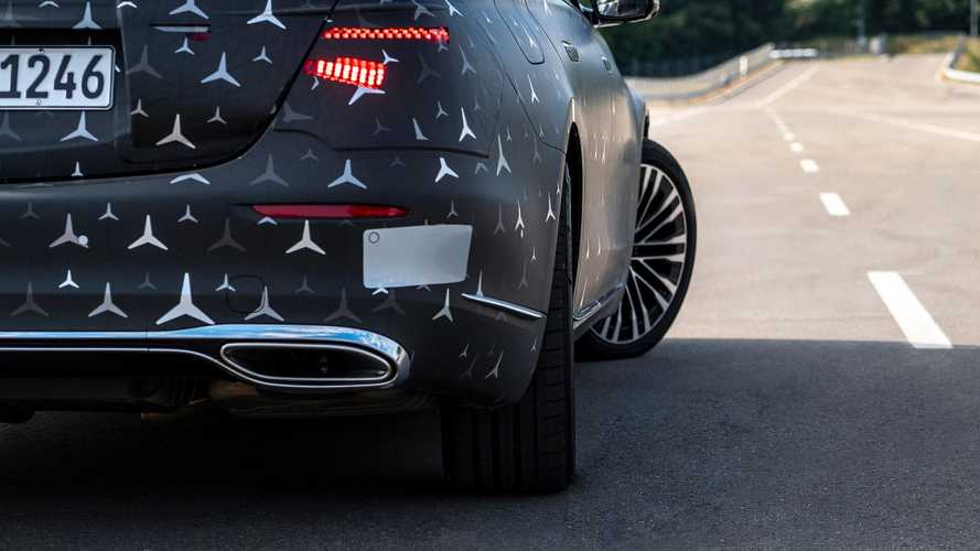 2021 Mercedes-Benz S-Class E-Active Body Control teaser