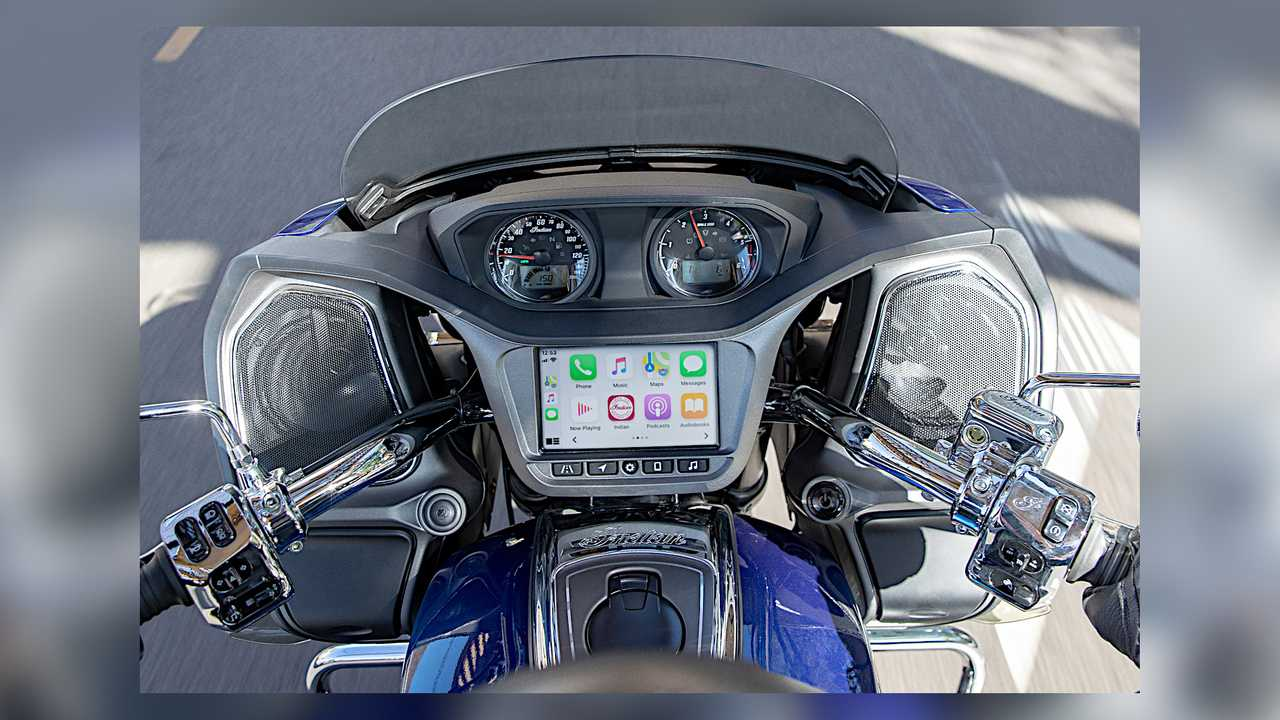 Indian Motorcycle Integrates Apple CarPlay