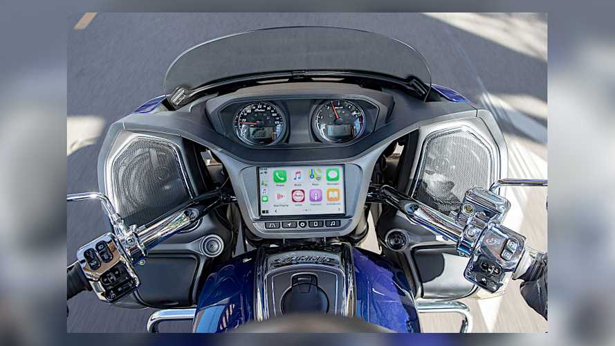 Indian Motorcycle Announces Apple CarPlay Integration For Some Newer Models