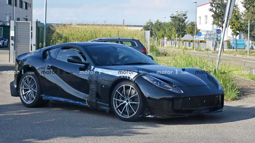 Ferrari 812 Spied Testing In Spicy Flavor With More Powerful V12