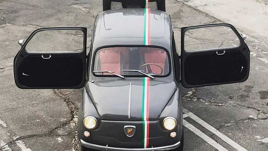This restored Fiat 600 is unashamedly better than a 500