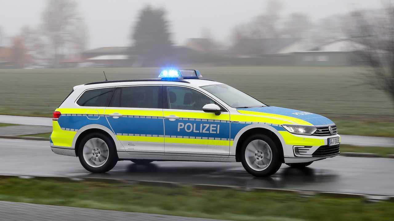 Polizeiautos in Deutschland: VW Passat Variant