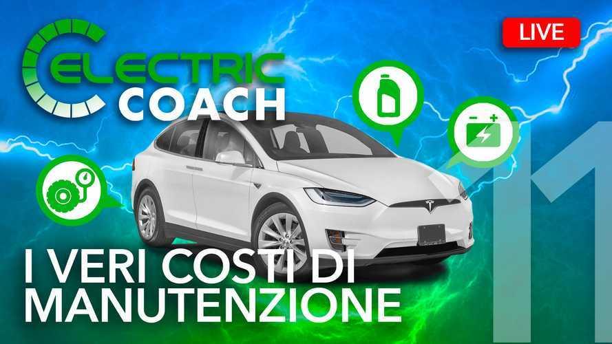 Auto elettriche, quanto si risparmia sulla manutenzione?