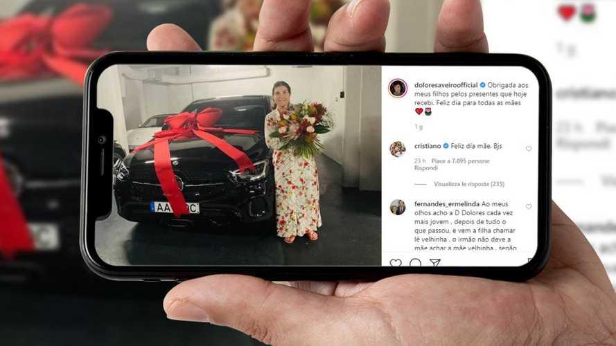 Cristiano Ronaldo regala alla mamma una Mercedes GLC