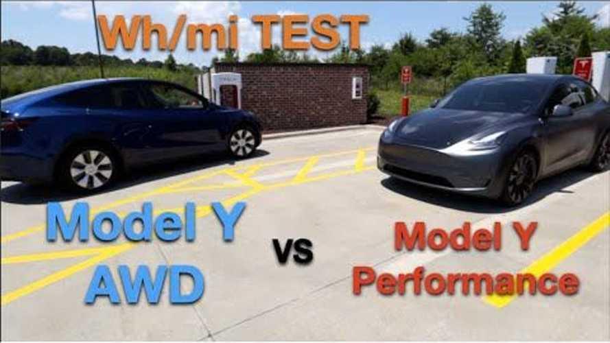 Tesla Model Y Long Range Vs Performance Version: Real-World Range Test