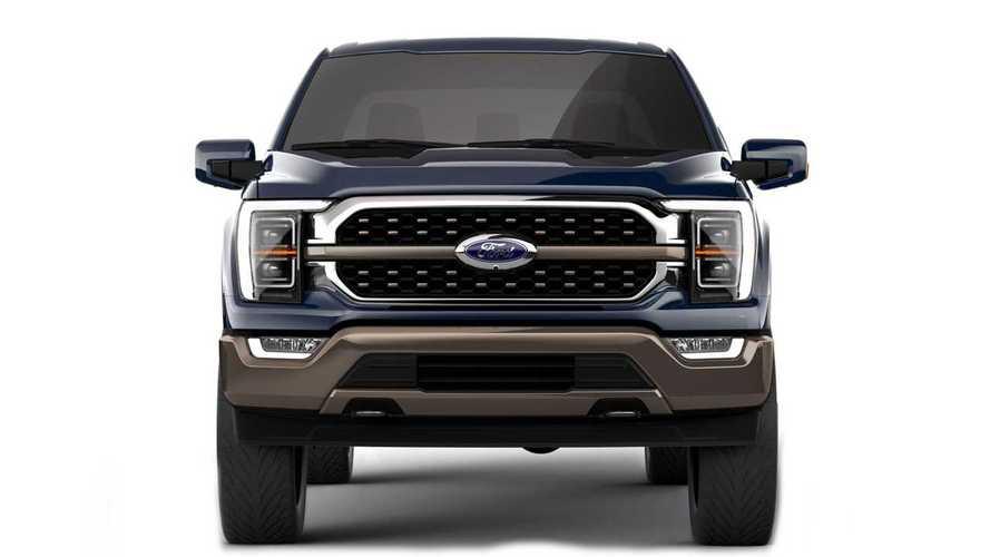 Варианты решеток радиатора нового Ford F-150