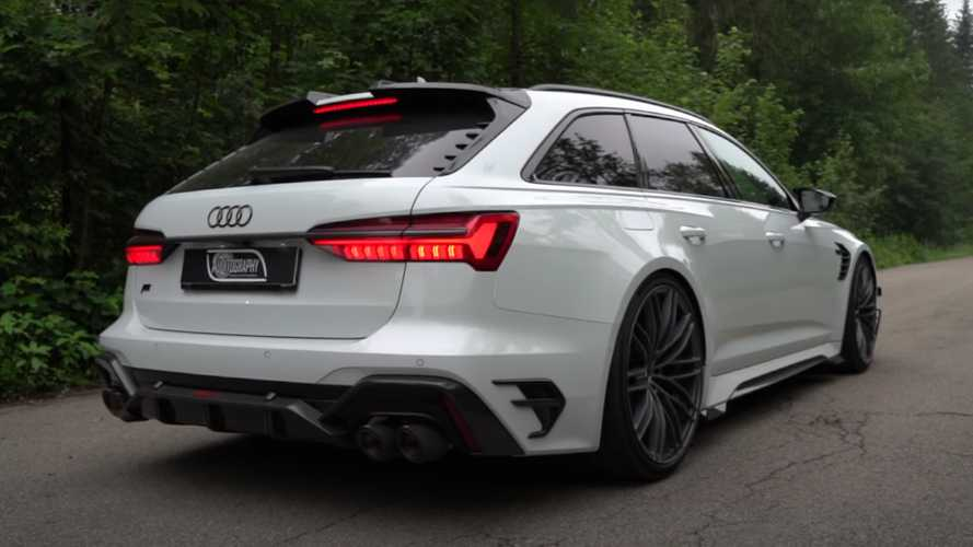 Audi RS6-R By ABT Shows Its Mean Body Up Close In New Video