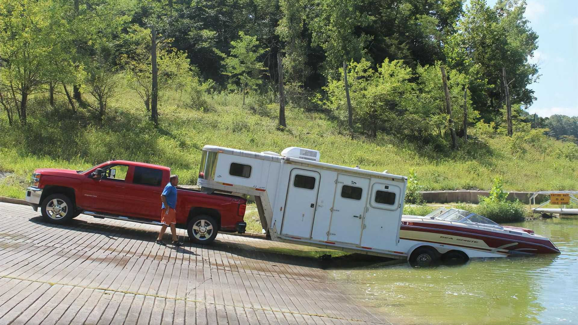 The Boat And Camp Trailer Combines Your Passions Into One Easy Tow