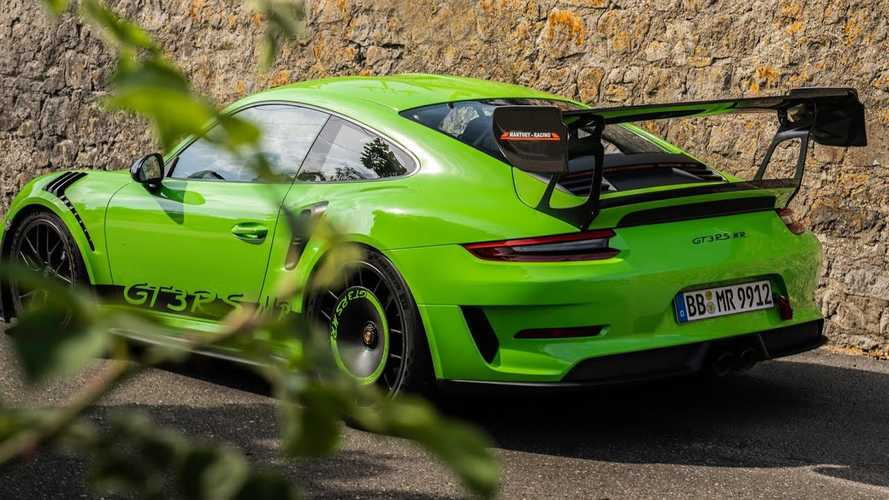Videón a Manthey Racing szemrevaló aerocsomagja a Porsche 911 GT3 RS-re