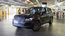 First Range Rover built under social distancing
