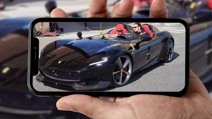 Zlatan Ibrahimovic, multato con la Ferrari SP2 Monza