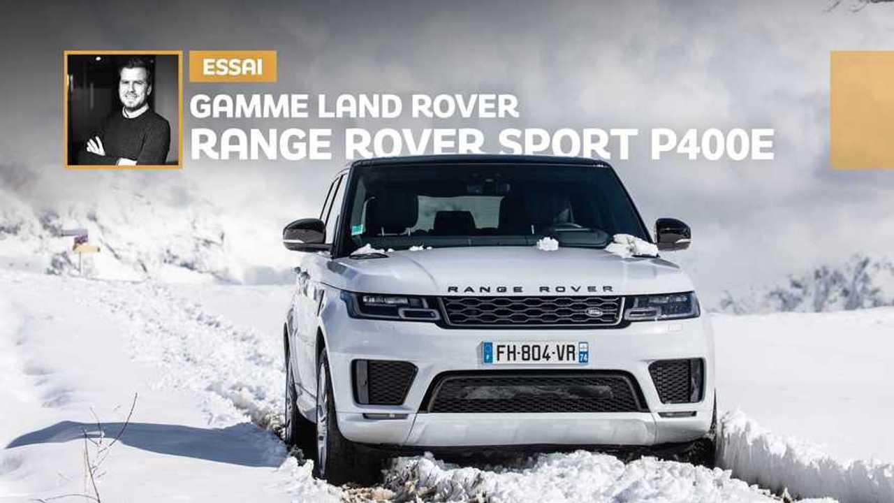 vignettes essai Range Rover Sport