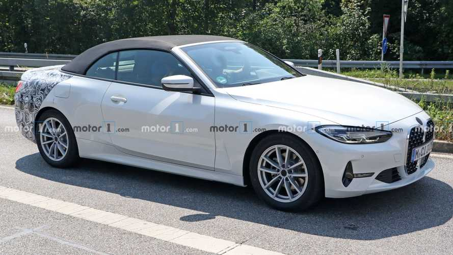 2020 BMW 4 Serisi Convertible prototipleri kamuflajlarını azalttı