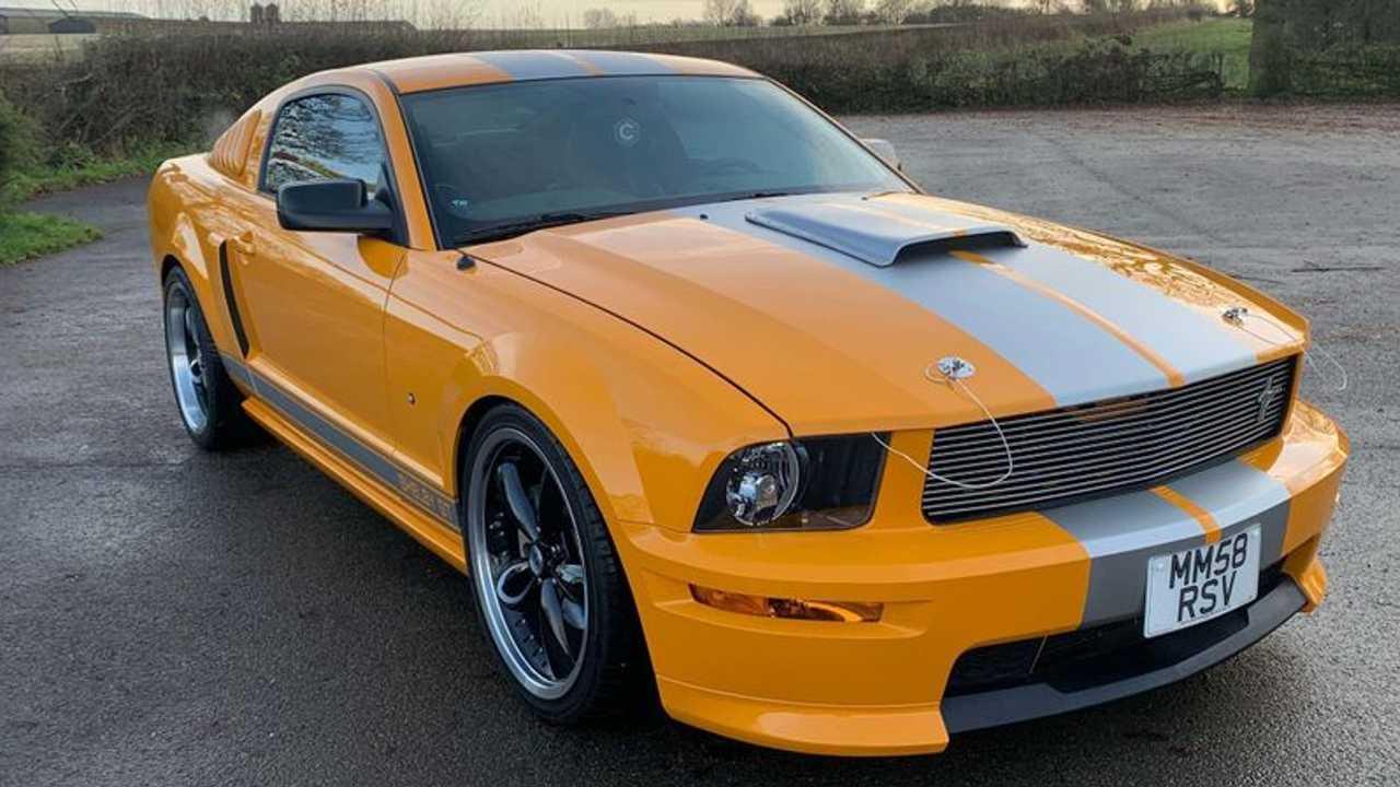 Vincent Kompany's Ford Mustang