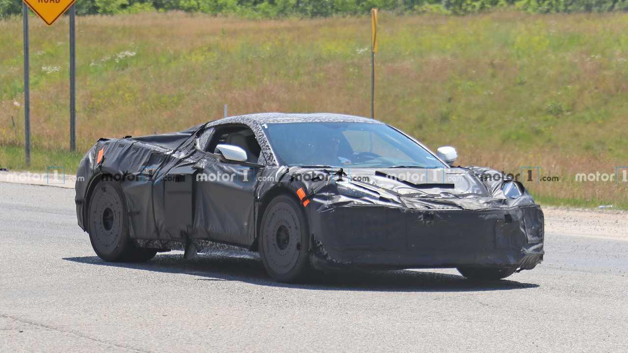C8 Chevrolet Corvette Z06 Spy Photo