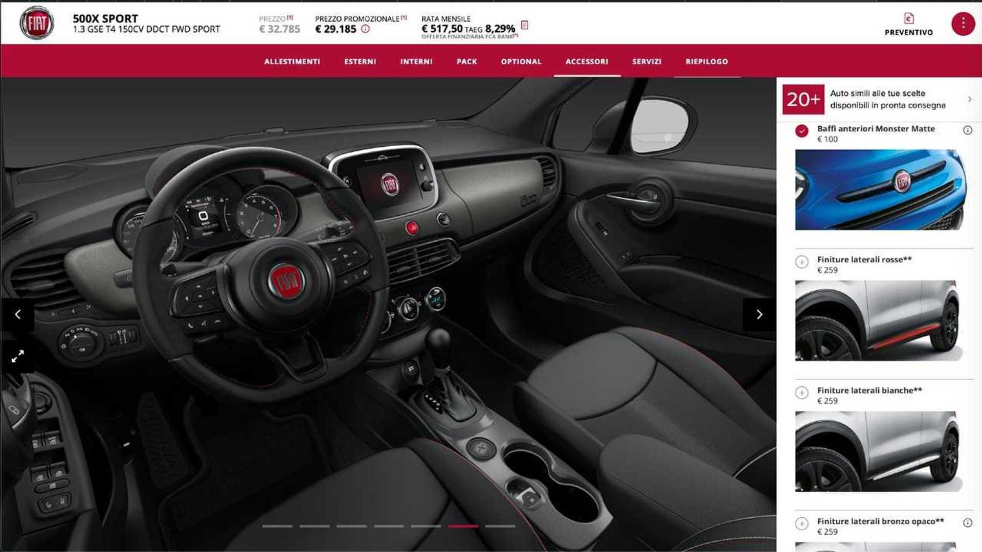 Fiat 500x Cosa Scegliere Tra Gli Allestimenti Cross E Sport