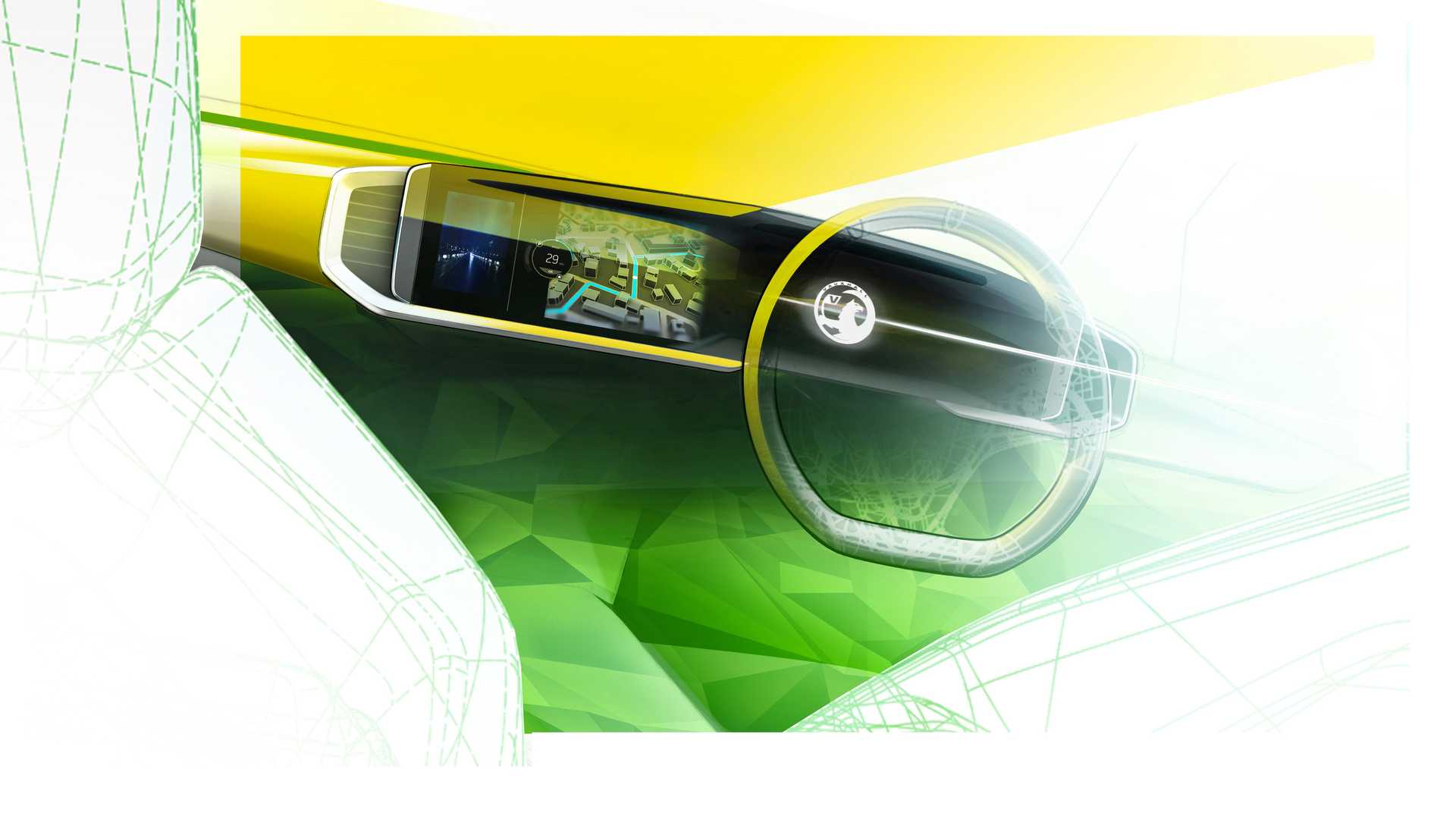 Vauxhall teases Mokka Pure Panel digital display