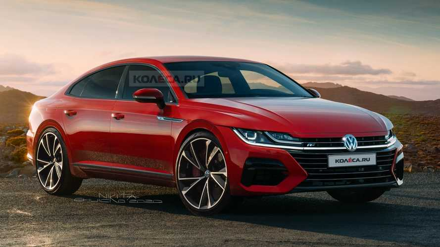 2021 VW Arteon Facelift Rendered With Minor Visual Tweaks