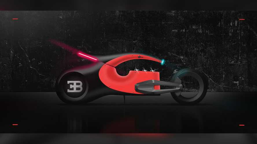 Is this what a Bugatti motorcycle would look like?