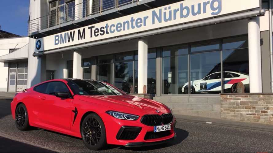 See BMW M8 Competition nail a fast lap at the Nurburgring