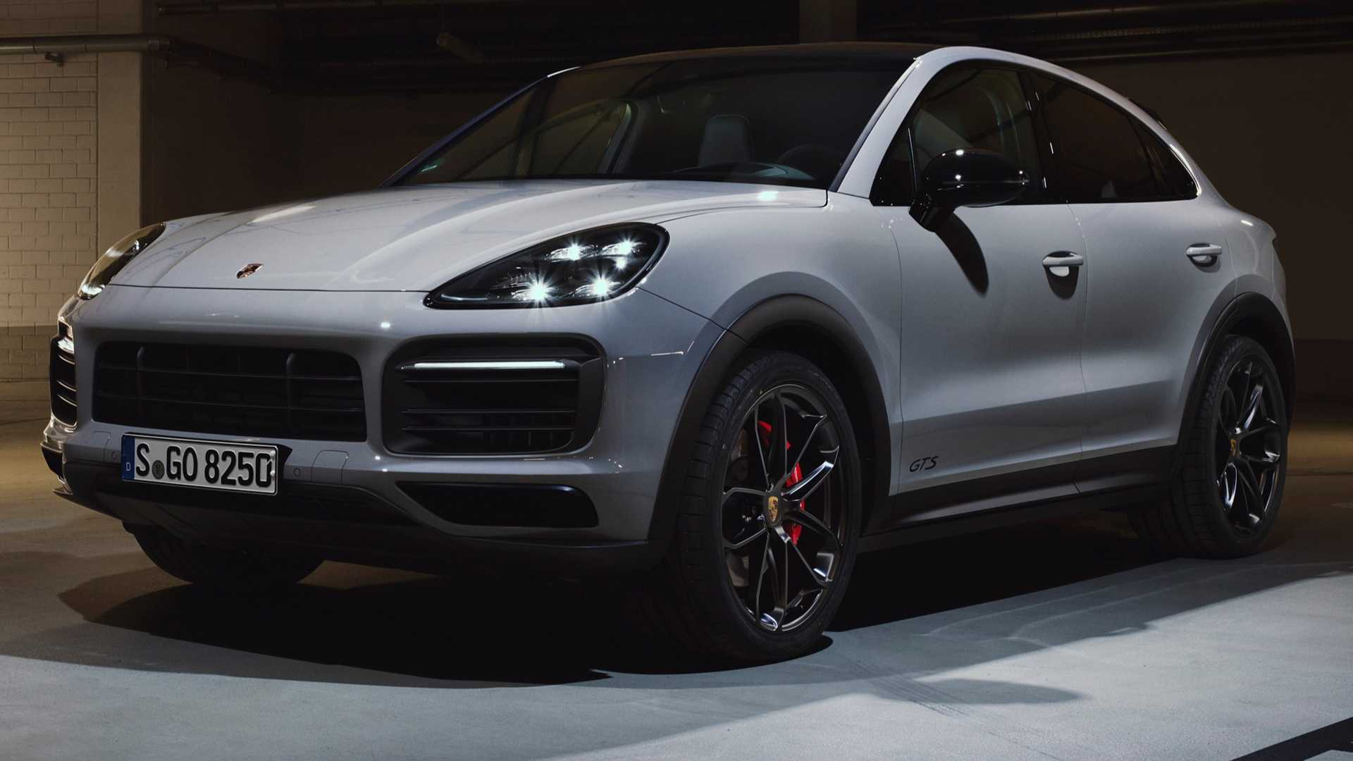2021 Porsche Cayenne Gts Coupe Gts Debut With 453 Hp V8