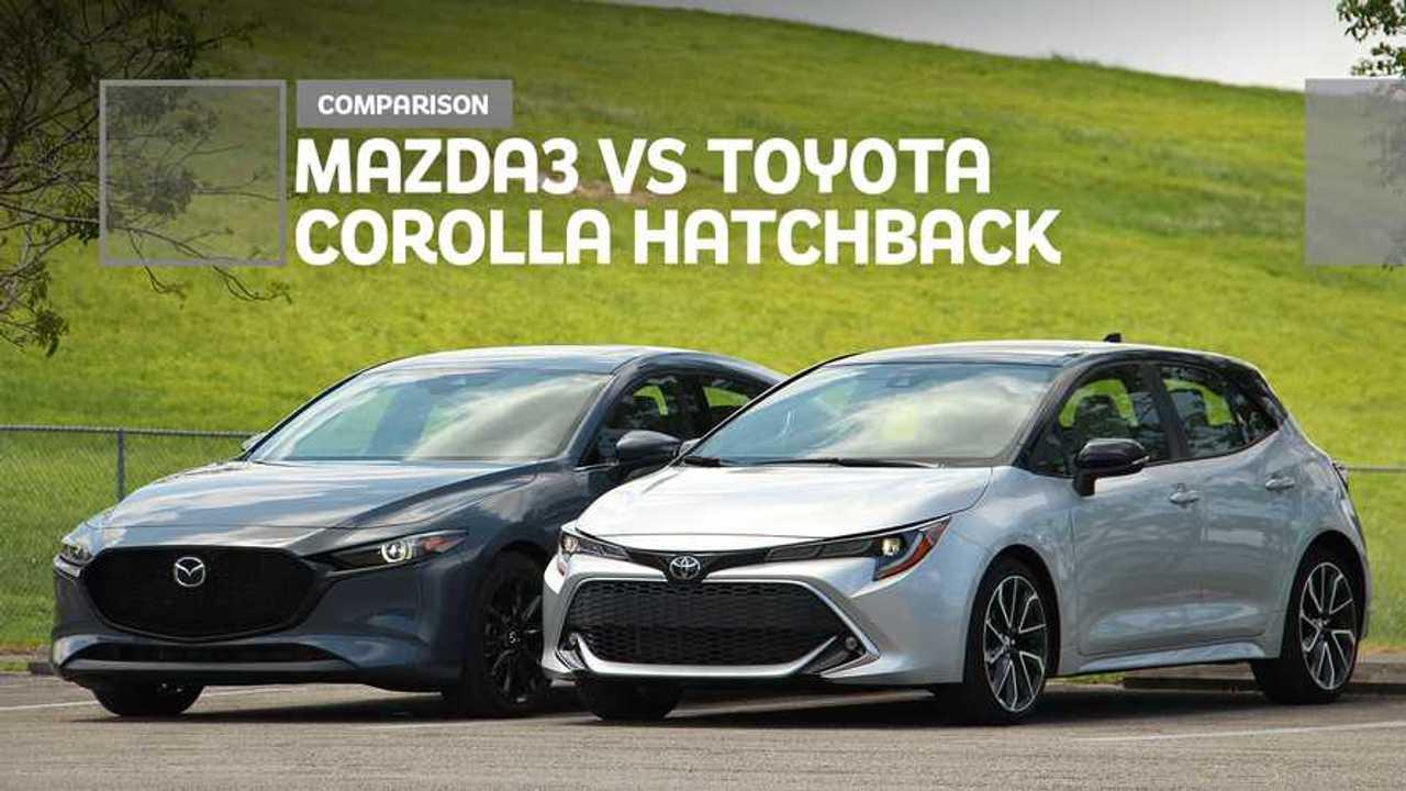 2020 Mazda3 Vs Toyota Corolla Hatchback: Comparison