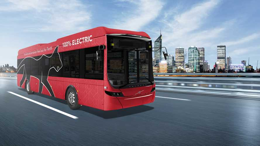 Volvo Buses announces its first electric buses into Australia