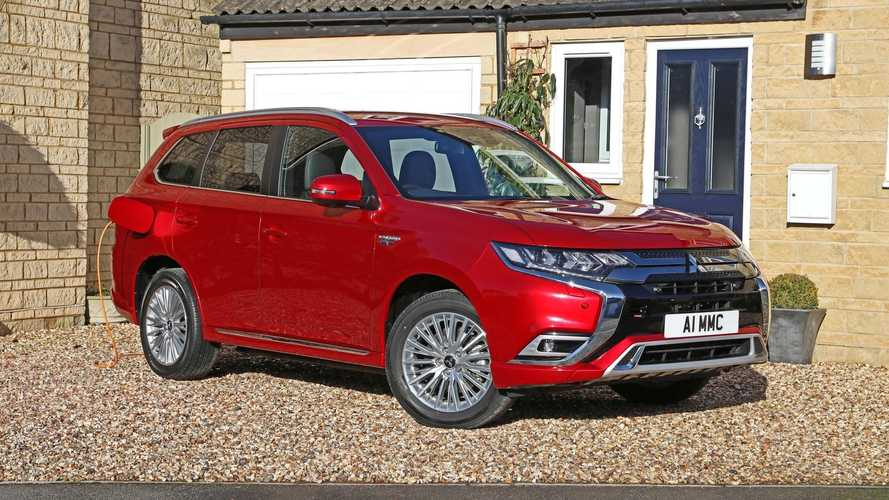 Outlander PHEV is Britain's best-selling plug-in hybrid SUV yet again