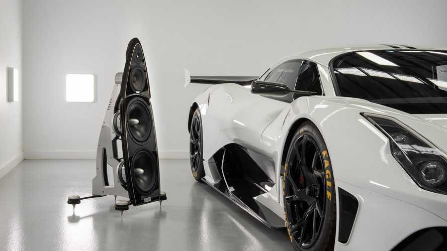Brabham - Kyron Audio İşbirliği İle Üretilen Ses Sistemi