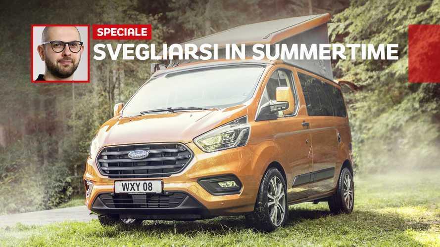 Ford Transit, piccolo camper e grande libertà by Westfalia