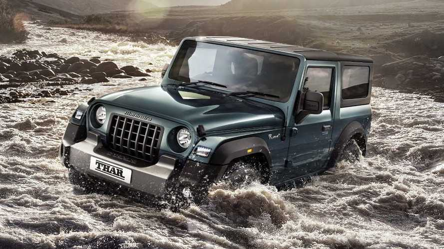 Jeep acusa Mahindra de copiar design do Wrangler no modelo Thar