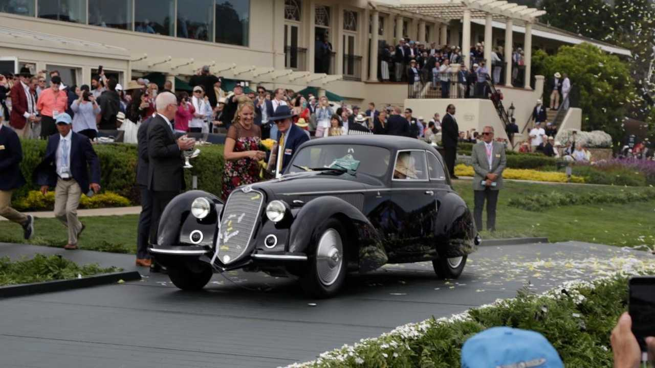 1937 Alfa Romeo 8C wins the Pebble Beach Concours!
