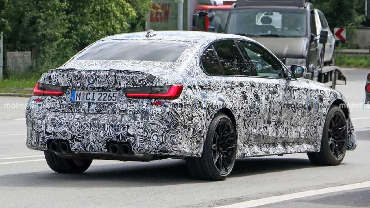 2022 BMW M3 CS spy photo