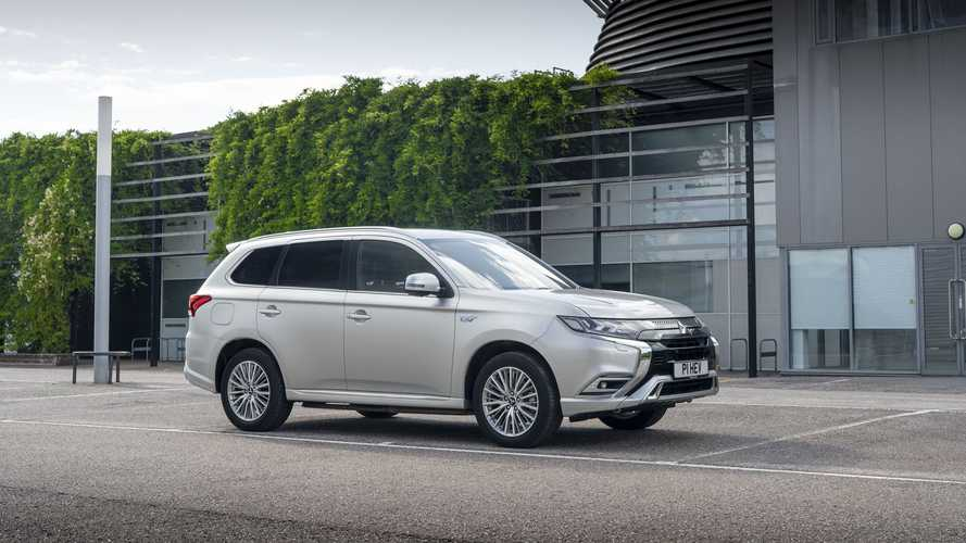 Mitsubishi Outlander PHEV in UK