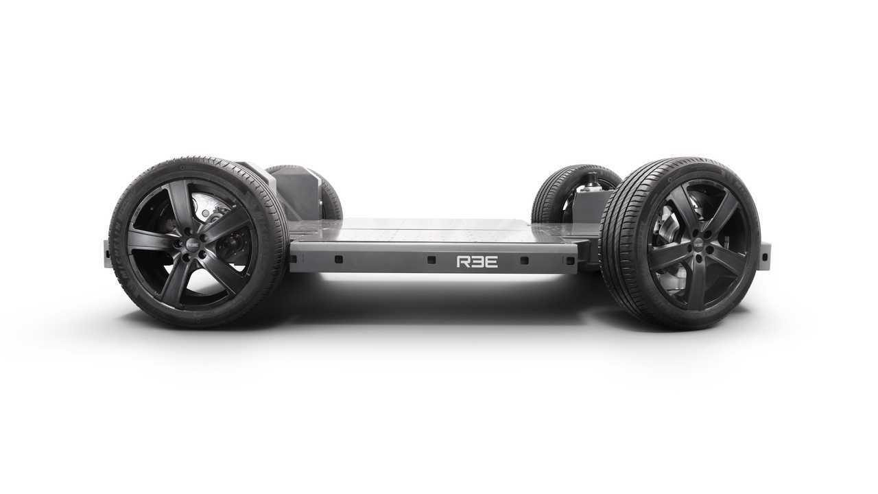 REE Automotive modular EV platform