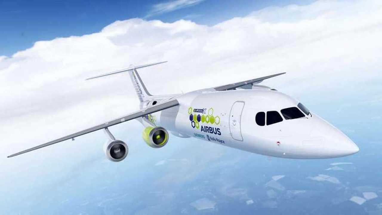 Airbus, Siemens и Rolls-Royce объединились для разработки электрического самолета
