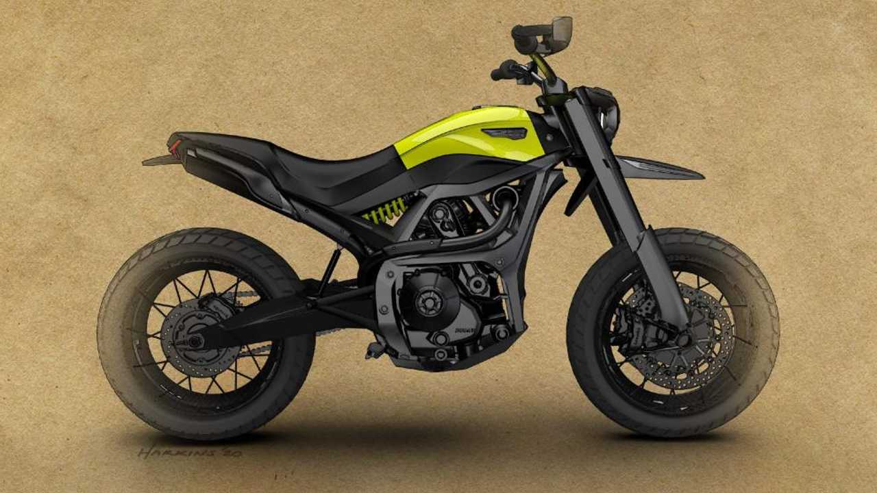 Ducati Scrambler Of The Future Design Contest