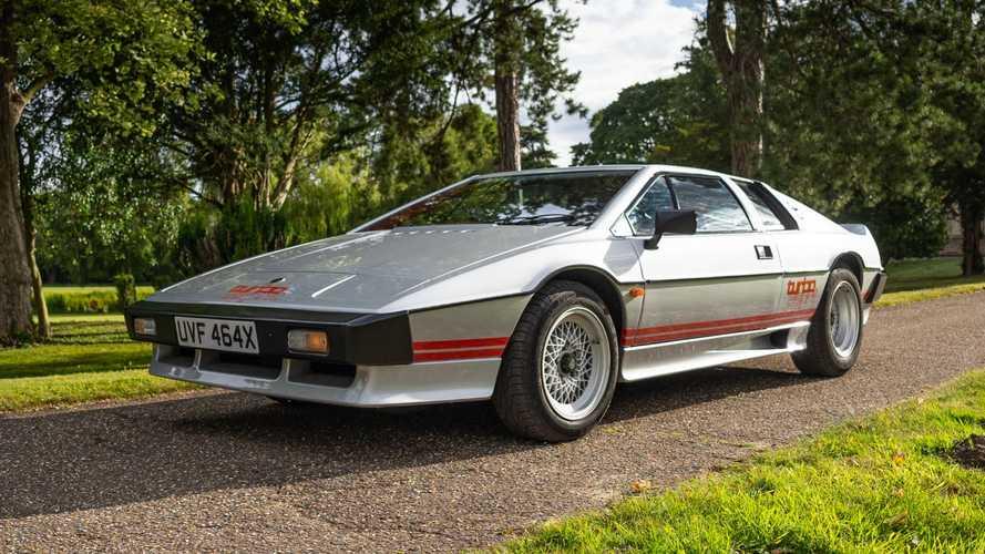 Colin Chapman's Lotus Turbo Esprit