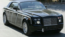 Rolls Royce Corniche Convertible Spy Photos