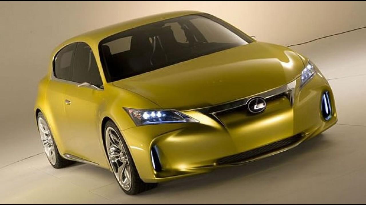 Lexus revela o conceito LF-Ch por completo - Modelo terá o sistema híbrido do Toyota Prius