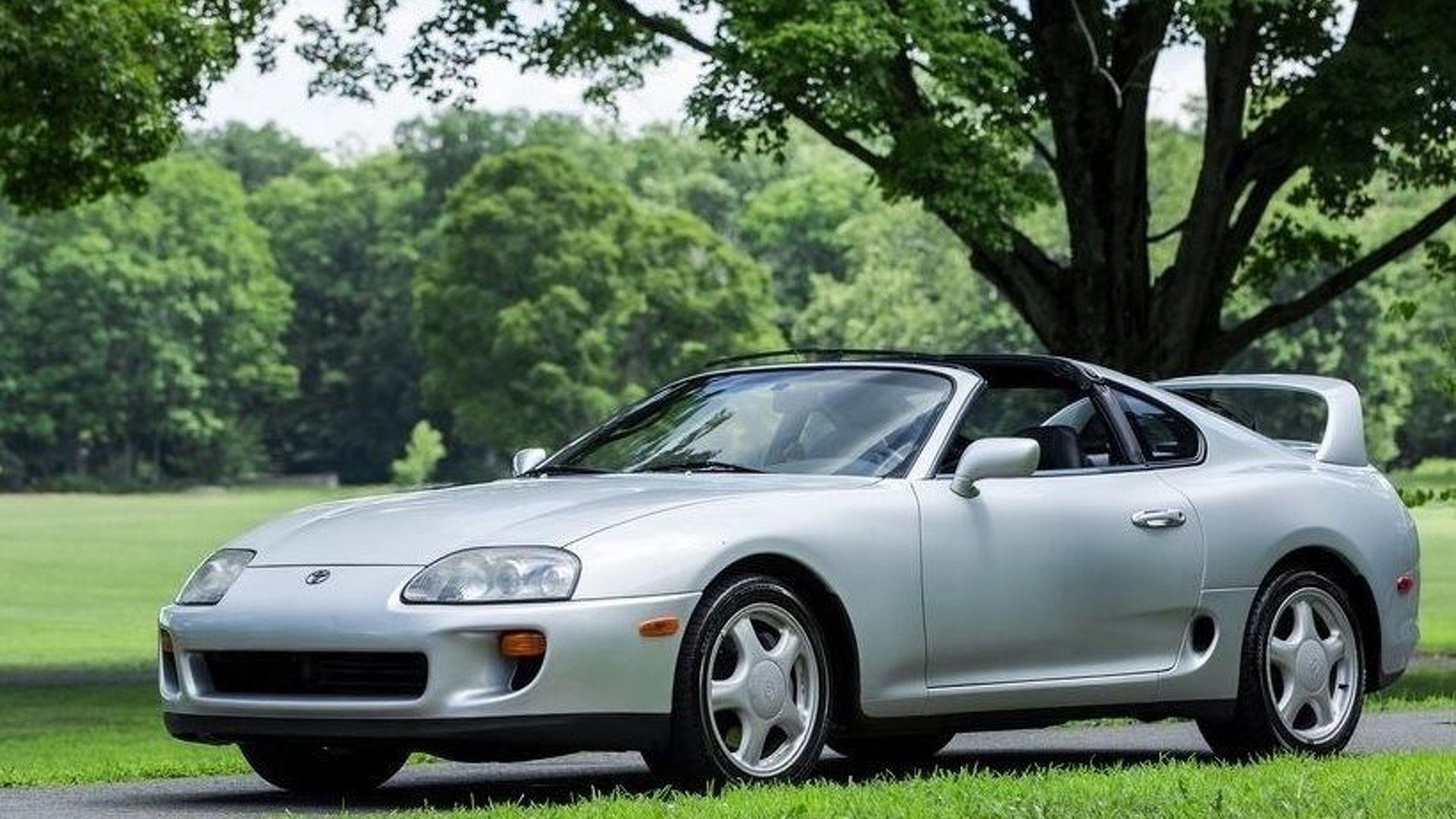 1994 Toyota Supra Ebay Find Is All Thrills No Frills
