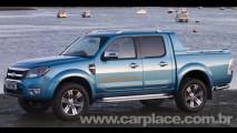 Nova Ford Ranger 2010 será lançada no Salão de Genebra - Veja as fotos oficiais