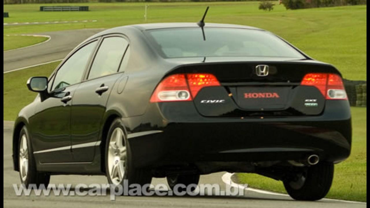 Honda Lança Oficialmente O New Civic 2009   Preço Inicial Sobe Para R$  64.365