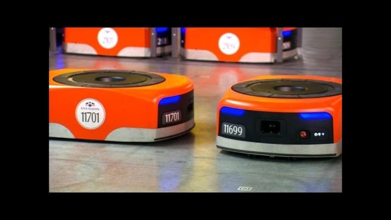 Amazon'un muhteşem robotları