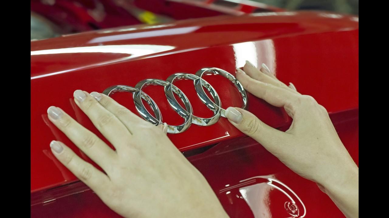 Audi, 500 km menzilli bataryalar için LG ve Samsung ile Güçlerini Birleştirdi