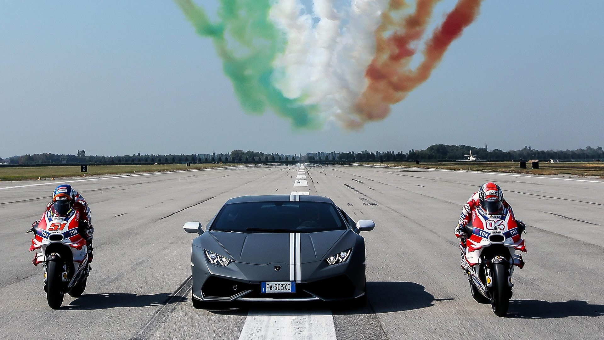 Lamborghini Celebrates Passioni Tricolori With Ducati And Italian