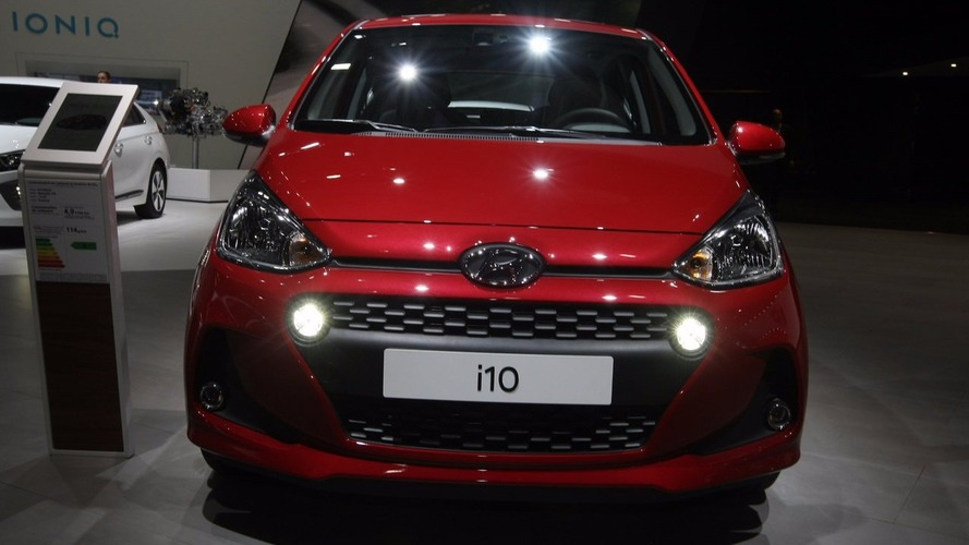 2017 Hyundai i10 shows new face in Paris