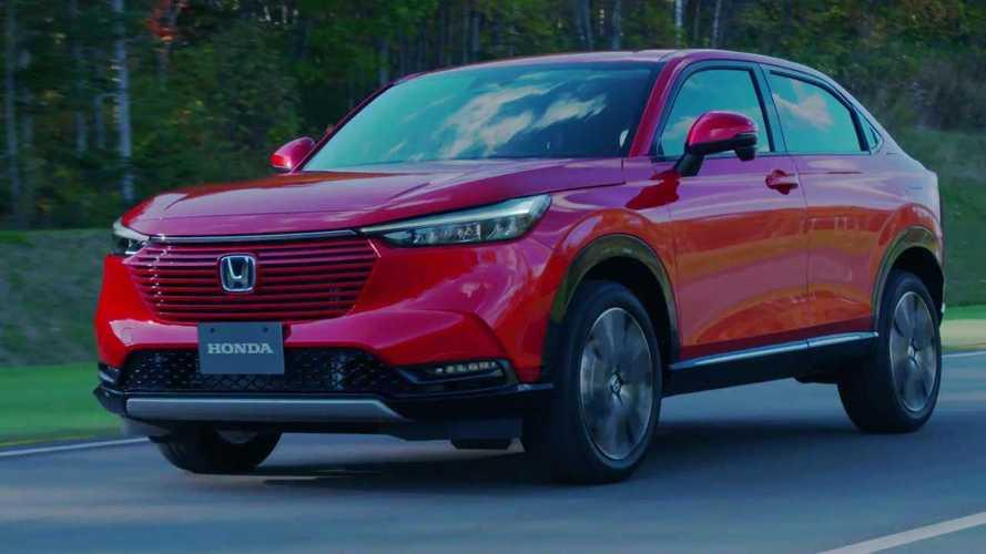 Novo Honda HR-V 2022 é revelado com design que deve dividir opiniões